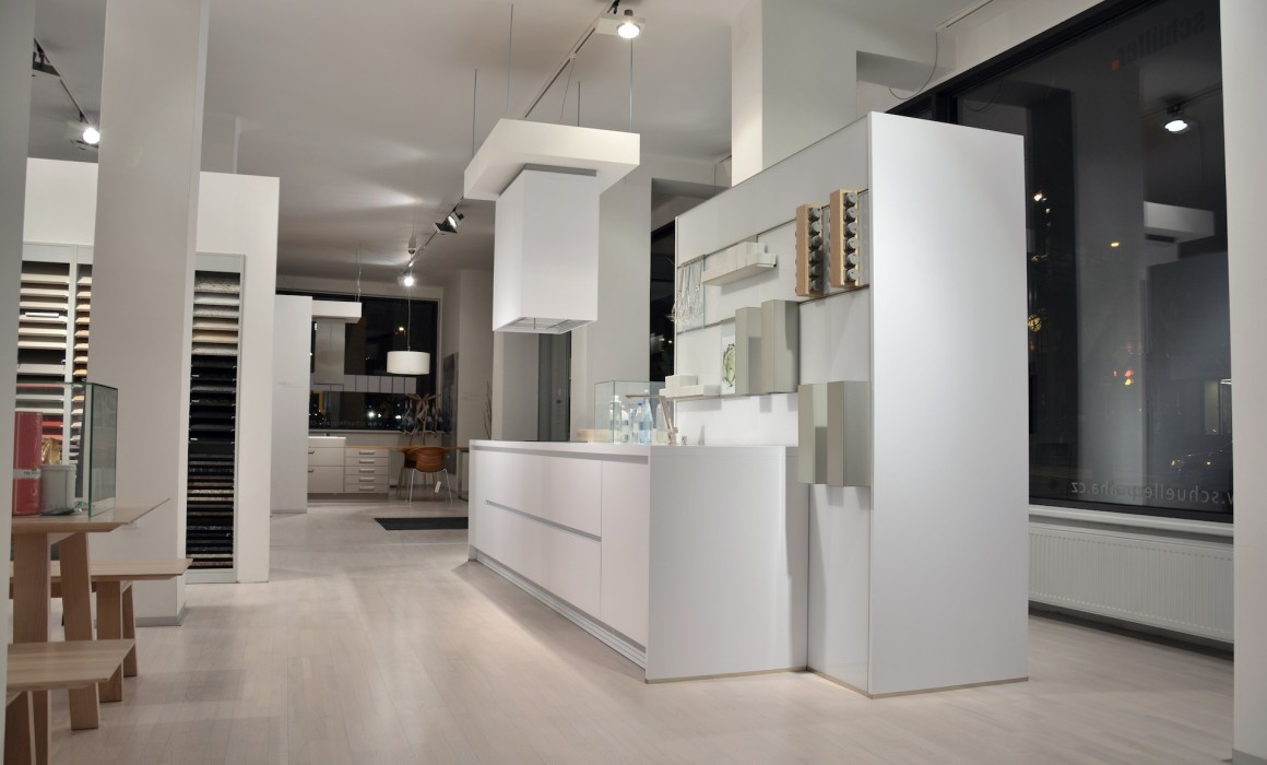Kuchyně next125 NX800 Solid polární bílá