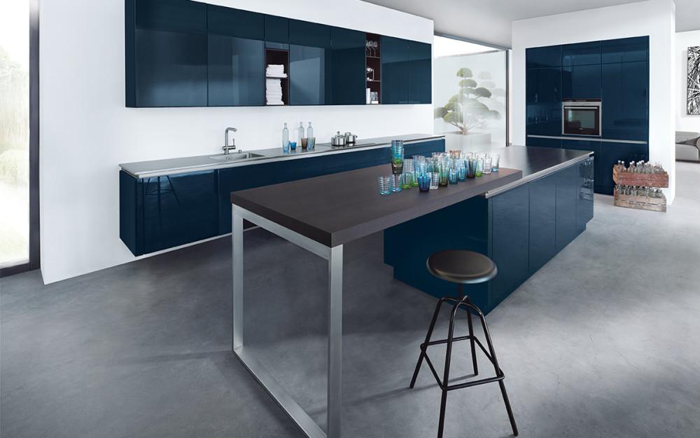 NX 501 Indigo modrá vysoký lesk