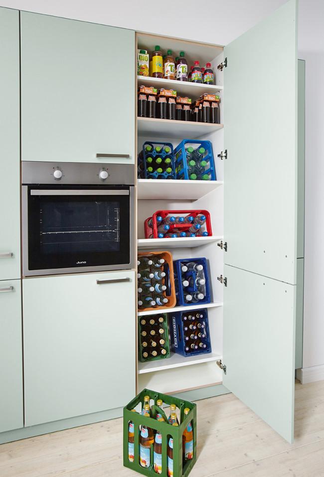Kuchyně Schüller BARI vysoká skřín