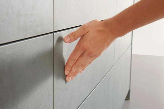 Kuchyně Schüller ELBA beton šedý - TIP ON 1