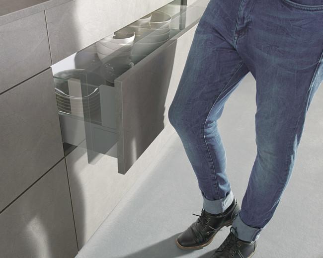 Kuchyně Schüller ELBA beton šedý - TIP ON 4