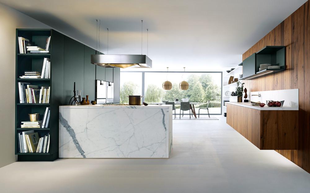 Kuchyně next125 NX 500 Zelená saténová Jaguár