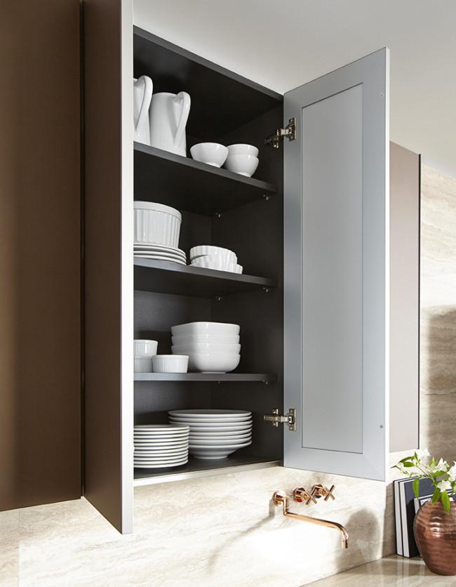 nx 902 sklo bronz metalic mat kuchyn sch ller. Black Bedroom Furniture Sets. Home Design Ideas