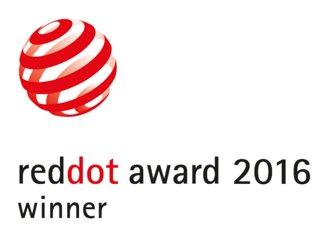 Red Dot design award winner 216
